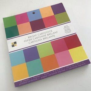 DCWV Bright Color Card Stock